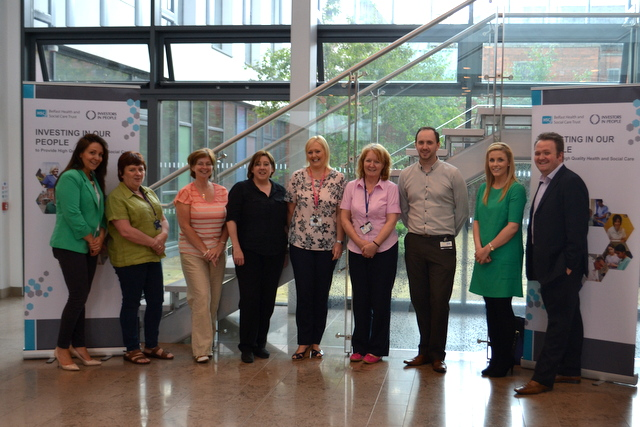 Staff from Belfast Trust who talked about their roles and responsibilities